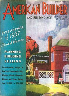 American Builder Mag. - October 1936