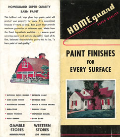 Home Guard Paint Brochure - c.1938