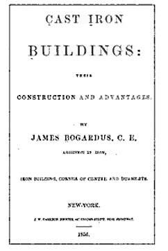 Cast Iron Buildings, Their Construction and Advantages - 1856