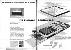 Robert B. Price design for Plywood School, Pacific Architect & Builder, February - 1958