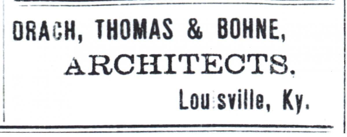 Advertisement - The Owenboro Messenger; March 20, 1896