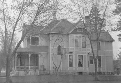 Dwight House, Spokane - c. 1886