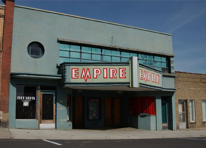 Empire Theater, Tekoa - 1940