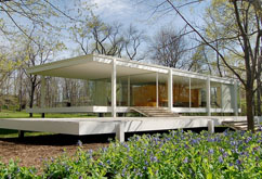 Farnsworth House, Plano, IL - 1951