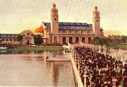Government Building, Lewis & Clark Exposition, Portland, OR - 1905