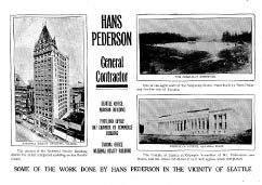 Han Pederson Advertisement, Seattle Times: June 8, 1913