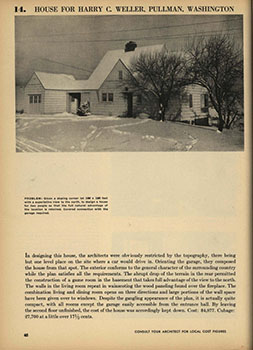 Harry Weller House - 1936 Book of Homes