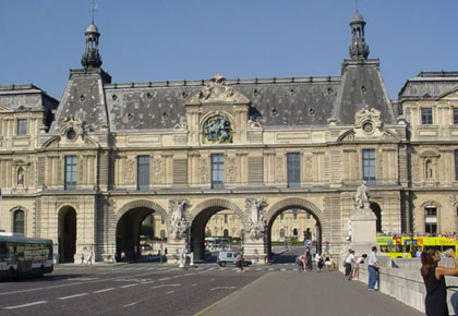 Part of the Louvre, Paris