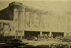 Architect's rendering, Meany Hotel Garage - 1930