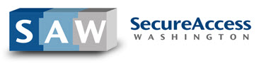 Secure Access Washington Login Button