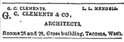Advertisement - Tacoma Daily News: Sept. 23, 1890