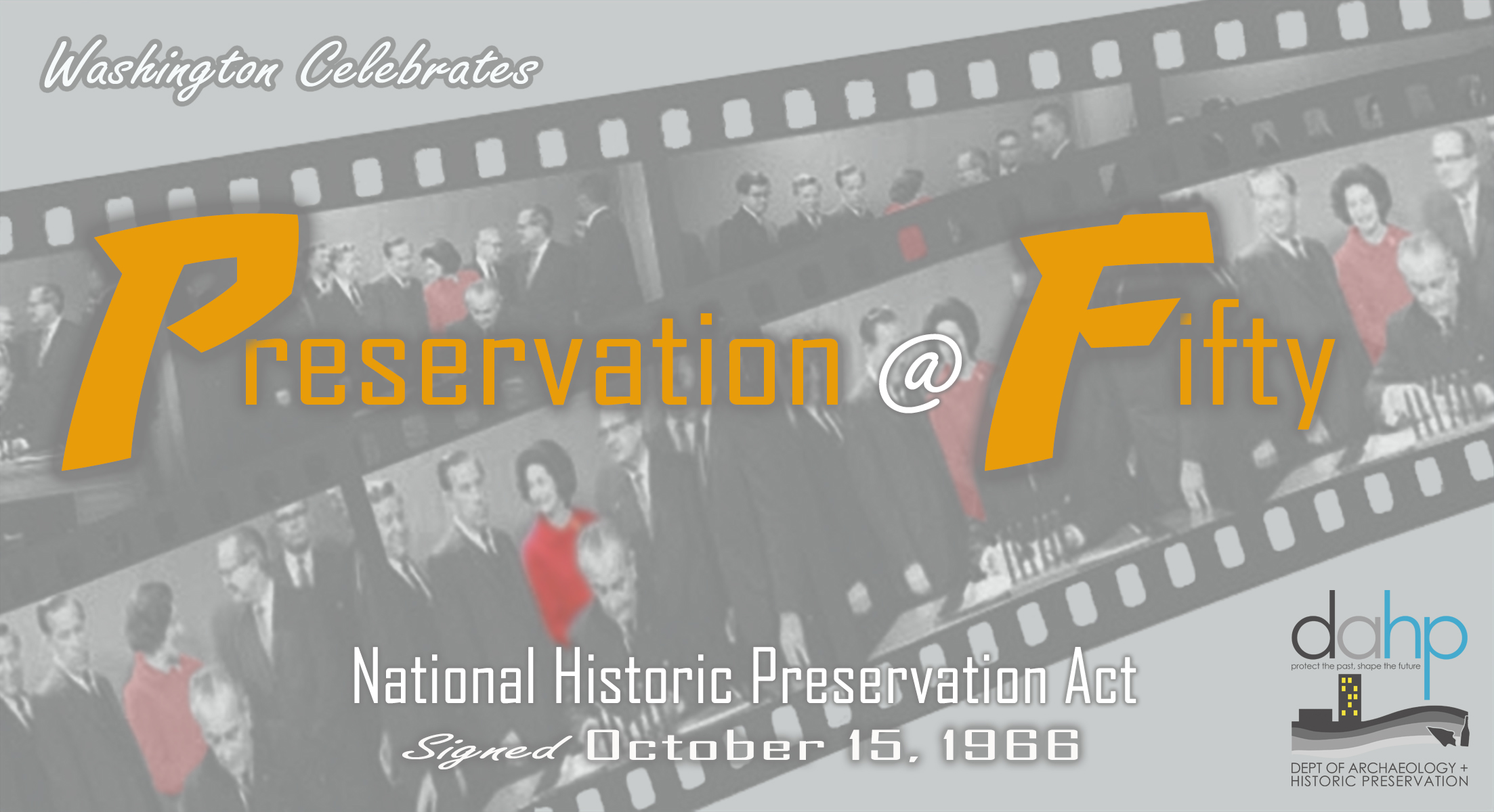 Save The Date PRESERVATION50 October 15 2016