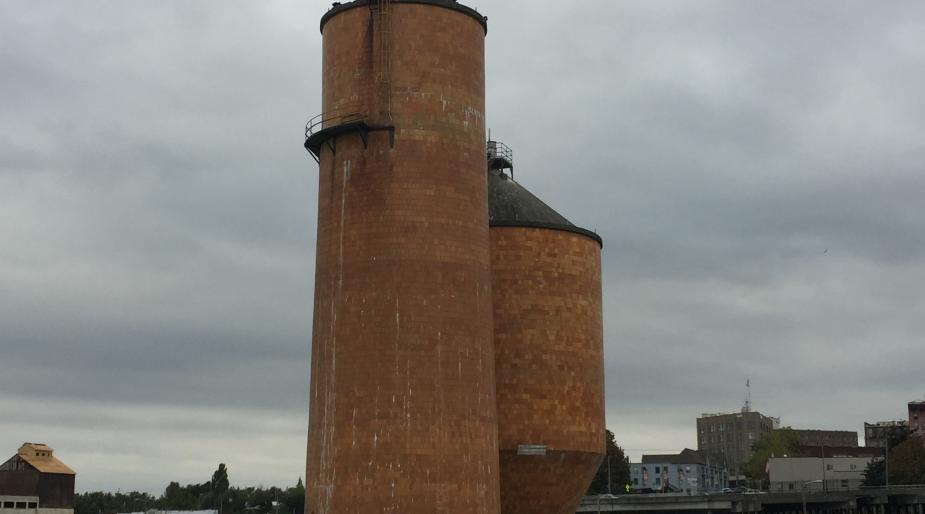 Clay Tile Silos, Port of Bellingham