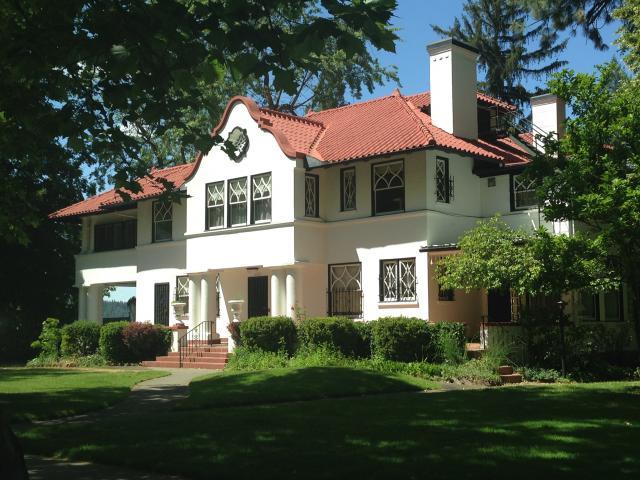 Mission Revival House, Spokane