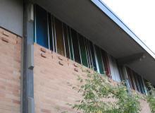 Exterior window detail